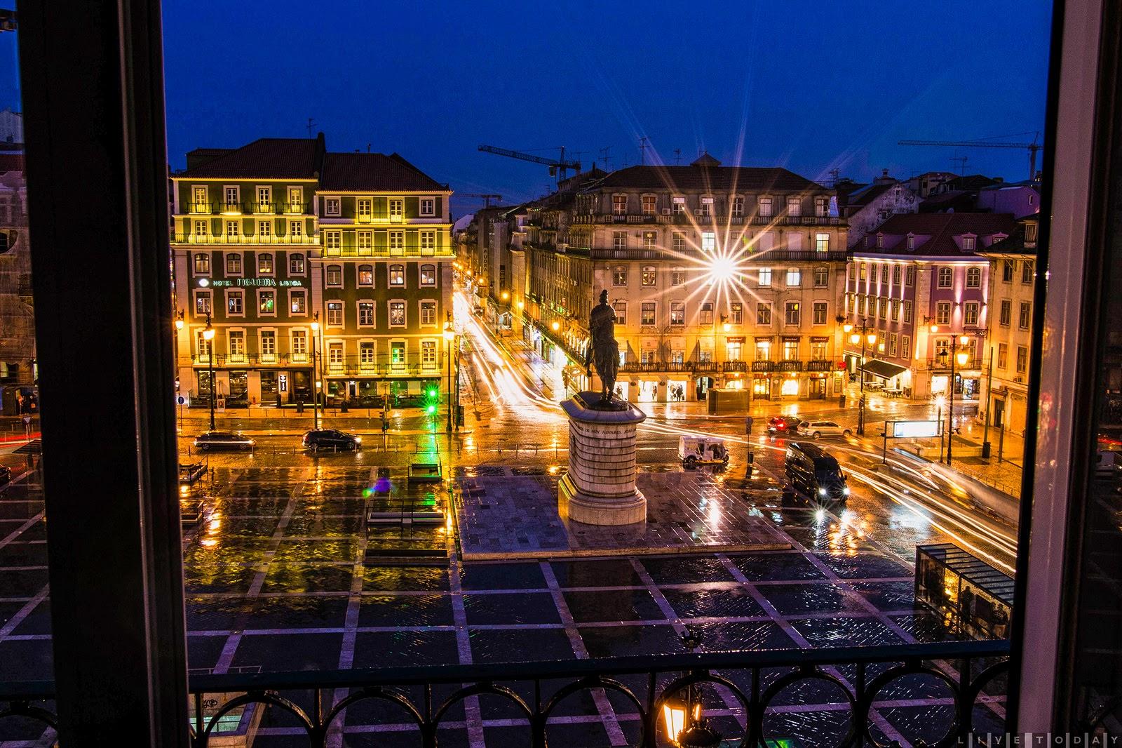 place Figueira- Lisbonne