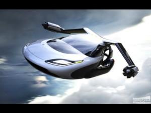 Préparez vous la voiture volante arrive !